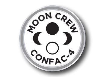 Moon Crew Pin